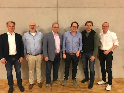Das Bild zeigt die Vorstandsmitglieder des Verein Startup Angels Alb-Bodesee e. V.